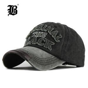 Hot-Retro-Washed-Baseball-Cap-Fitted-Cap-Snapback-Hat-for-Men-Bone-Women-Casual