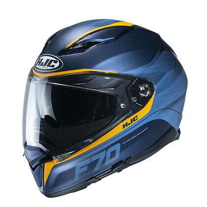 HJC F70 Feron Adult DOT Motorcycle Helmet Blue All Sizes