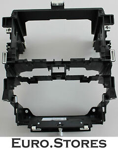 audi s3 center console radio frame double din for a3 8p. Black Bedroom Furniture Sets. Home Design Ideas