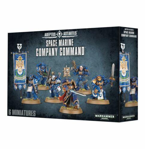 Warhammer 40K Space Marine Company Command 48-51