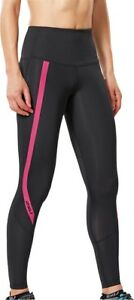 2XU Hi-Rise Pour Femme Long Compression Collants-Noir-afficher le titre d`origine ld0bcbw4-07134933-135321972
