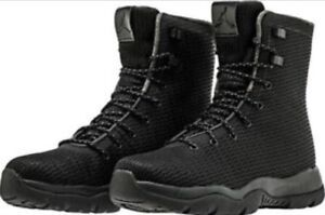 best service f9ddc 83e4f Image is loading DS-MENS-NIKE-AIR-JORDAN-FUTURE-BOOTS-BLACK-