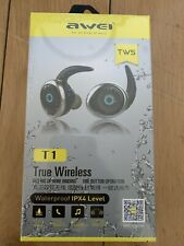 f2efed9c71d item 3 AWEI True Wireless Sports Headphones SILVER *NEW & SEALED* -AWEI  True Wireless Sports Headphones SILVER *NEW & SEALED*