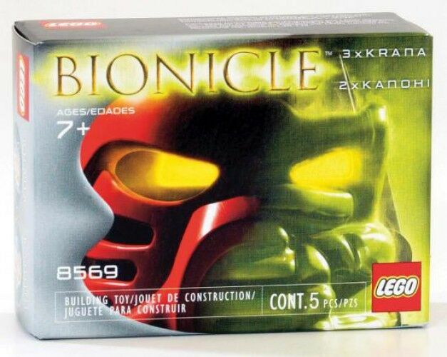 LEGO Bionicle Krana & Kanohi Masks Set