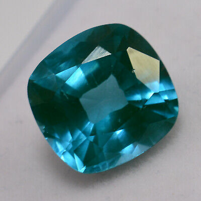Certified 12.00 Ct Neon Blue Copper Bearing Paraiba Tourmaline Natural Gemstones