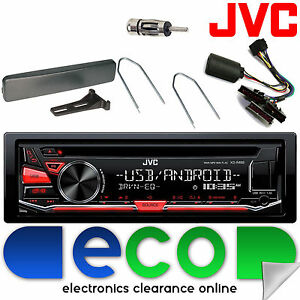 ford focus 98 04 jvc car stereo cd mp3 usb steering wheel rh ebay co uk