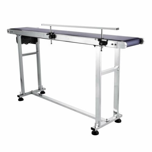 Top-grade Conveyor W// Single Guardrail Powered Rubber PVC Belt 1500x200mm 1.5m