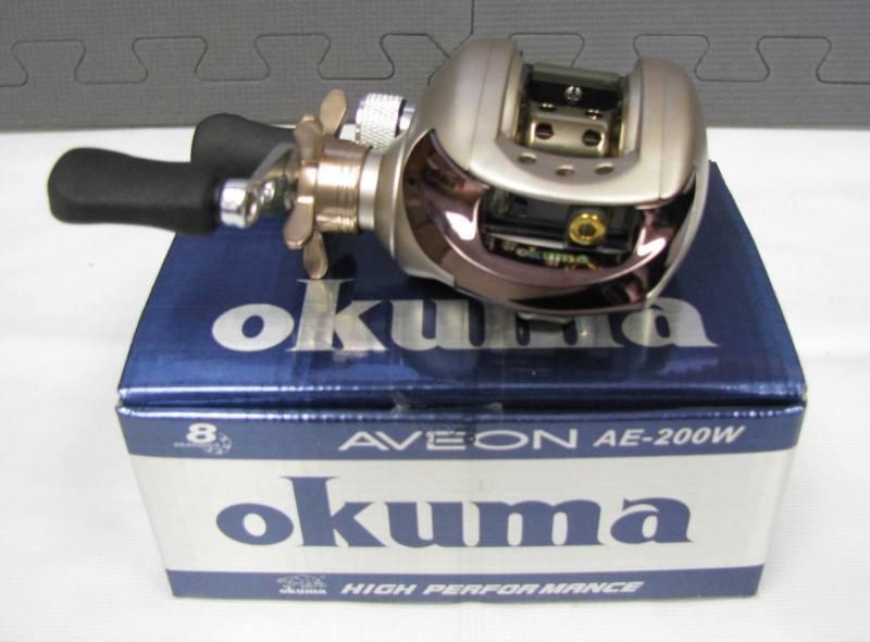 OKUMA AVEON AE-200W LOW PROFILE BAITCASTING REEL