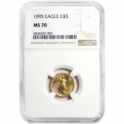 Wide Reeds NGC MS70 2015 American Gold Eagle 1//10 oz First Releases $5