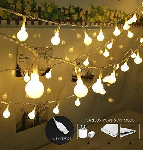 100 Led Globe String Lights Ball Christmas Indoor Outdoor Decorative Light For Sale Online Ebay