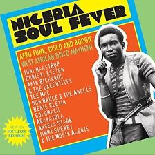 SOUL JAZZ RECORDS /NIGERIA SOUL FEVER! 70S AFRO FUNK,DISCO AND BOOGIE 2 CD NEU