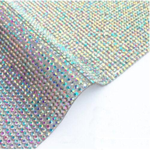 DIY 2mm Multi-Color Crystal Diamond Rhinestone Interior Decorative Sticker Decal