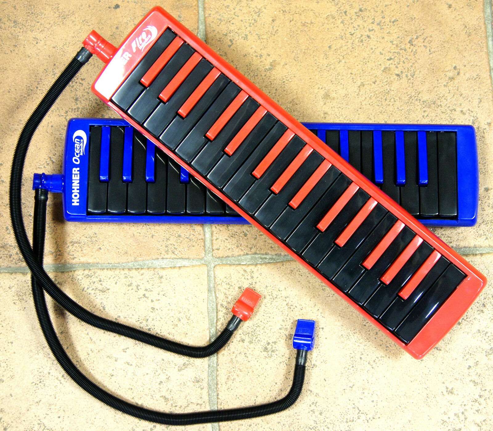 vieni a scegliere il tuo stile sportivo Mélodica Mélodica Mélodica   melodion HOHNER 32 touches piano   Ocean blu   Fire rosso  design unico