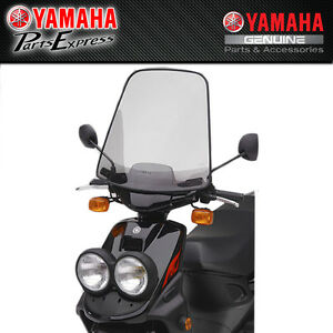Details about NEW YAMAHA ZUMA® WINDSHIELDS FOR ZUMA 50 INCLUDES HARDWARE  ABA-5PJ03-00-00