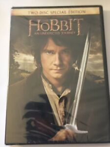 Hobbit: An Unexpected Journey, Desolation of Smaug (DVD Movies, lot of 2) Sealed