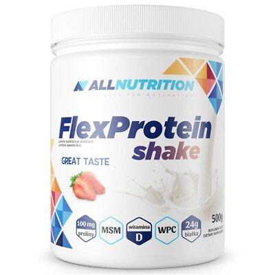 (3.99€/100g) Flex Protein 500g- Für Aktive Frauen Geschaffen   +q10 + Vit C +msm