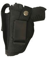 Big Dog Gun Holster Fits Accu-tek 380 Black Nylon Owb Ambidextrous