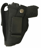 Big Dog Gun Holster Fits Amt Backup 380 Black Nylon Owb Ambidextrous