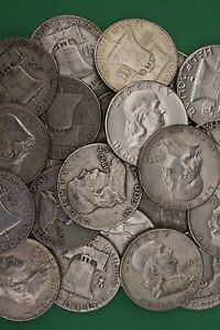 MAKE OFFER 1 Troy Ounce 90/% Silver Mercury /& Roosevelt Dimes Washington Junk