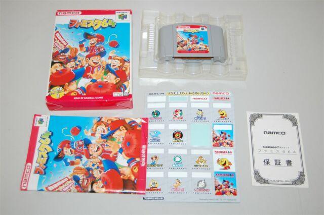 FAMISTA 64 Family Stadium japan Nintendo 64 N64 Game