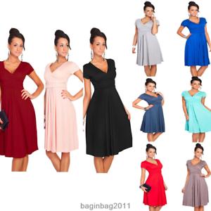 Image is loading Nursing-Pregnant-Women-Summer-Comfy-Maternity-Dress- Breastfeeding- f85d25f20f7d