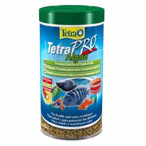TETRA-PRO-ALGAE-CRISPS-PREMIUM-VEGETABLE-FISH-FOOD-CONTAIN-SPIRULINA-250ml