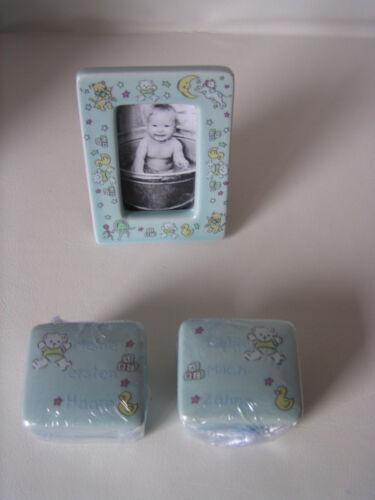 Geburt Fotorahmen Geschenk zur Taufe Baby Baby-Set mit Sparschwein Taufe