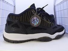 2007 Air Jordan XI Retro 11 IE LE Low sz 9.5 TSS 8.5/10 OG BLACK LEMON ZEST