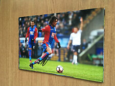 LOIC REMY CRYSTAL PALACE FC FOOTBALL 12X8 HAND SIGNED PHOTO AUTOGRAPH