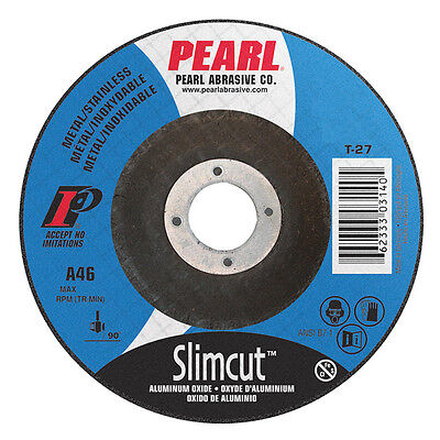 "5/"" x .045/"" x 7//8/"" Depressed Center Cut-Off Wheel T27 Cutting Discs 25 Pack"