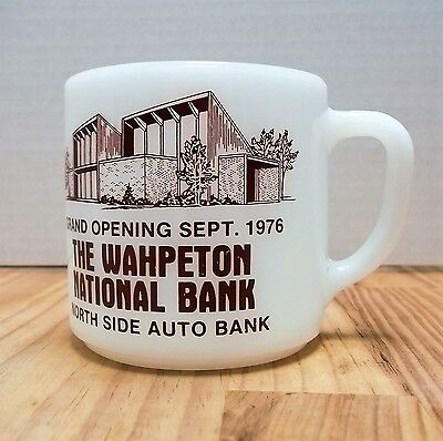 Wahpeton National Bank Grand Opening 1976 North Side Auto Federal Coffee Mug