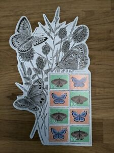 Spezialbogen, Europa 2021 Schmetterlinge / Butterfly, Postfrisch / MNH