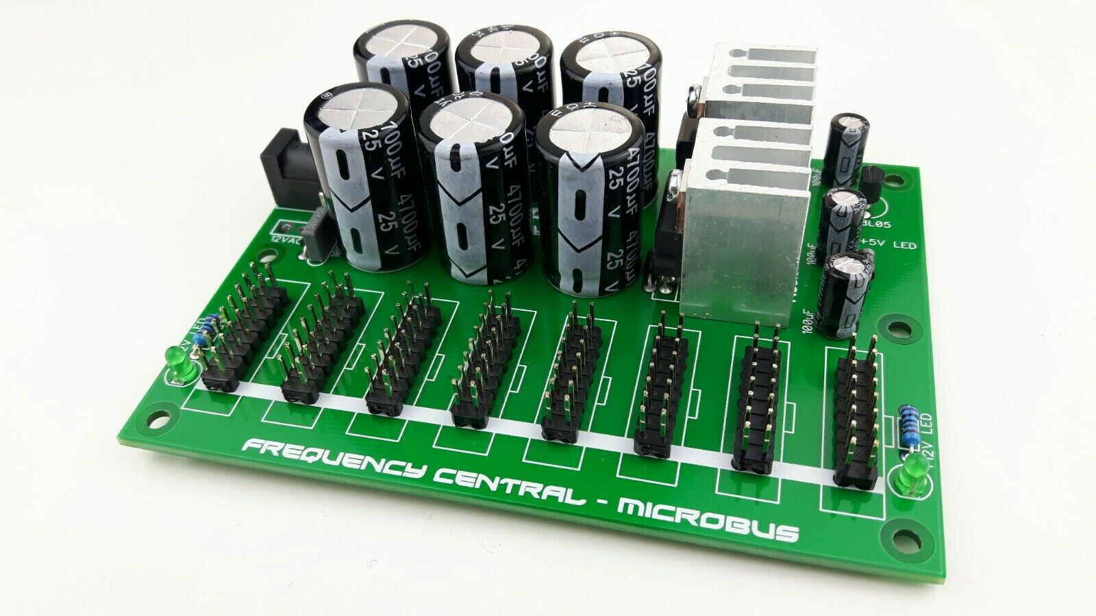 Frequency Central Microbus Power Supply - Assembled - Doepfer - Eurorack