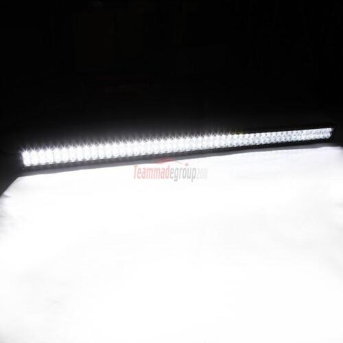 """52/""""700W CREE LED LIGHT BAR FLOOD SPOT OFFROAD TRUCK FOR JEEP FORD CHEVY RAM 50/"""""""