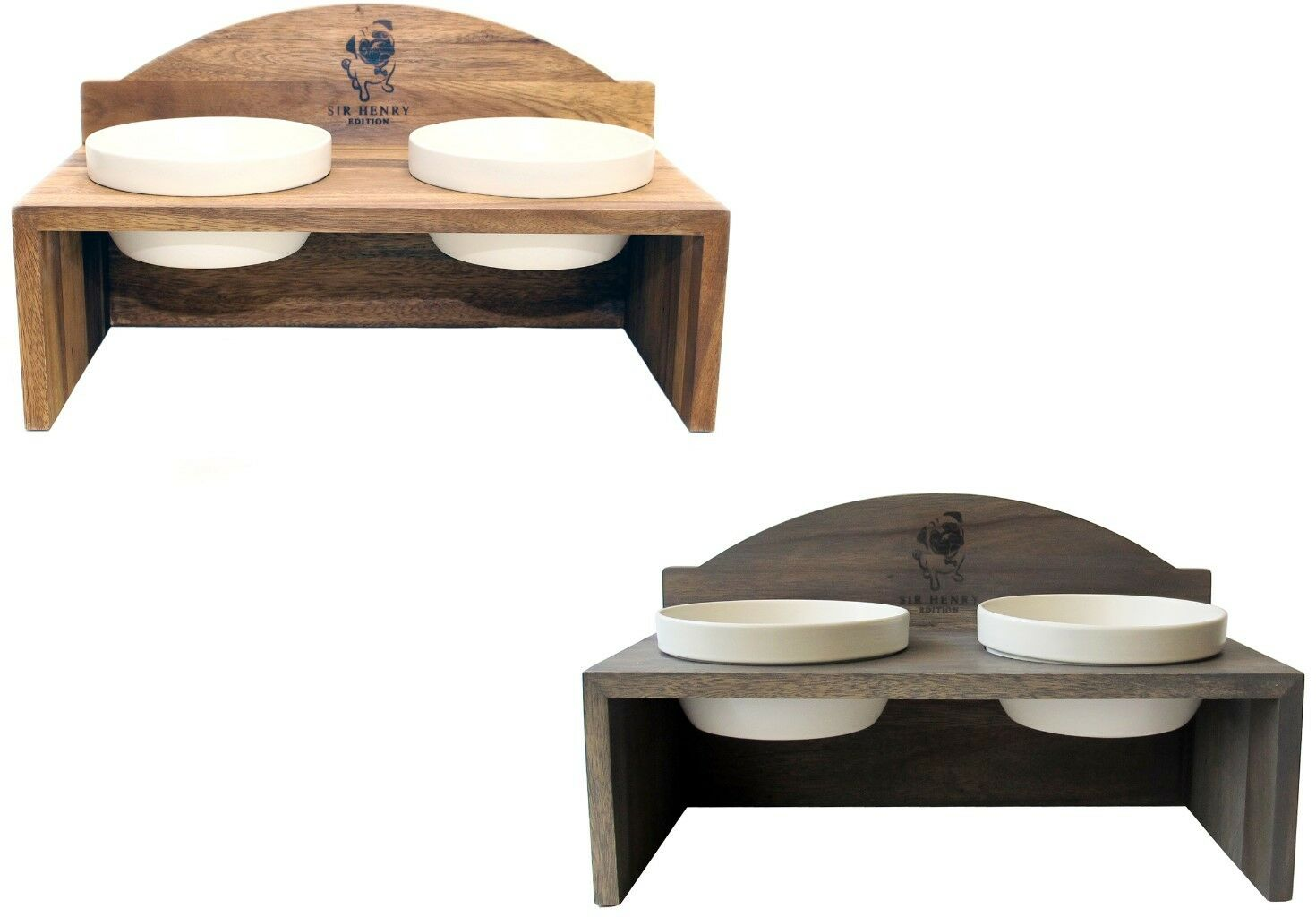 Grün. Wolters  Replus Meshidai Futterstation Sir Henry Doppelnapf  Napf Freßnapf  | Elegante Form