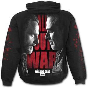 Spiral Official AMC/'s Walking Dead All Out War T-Shirt Negan vs Rick