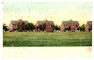 MILITARY-U-S-Army-Barracks-PLATTSBURG-N-Y-Divided-Back-Postcard-Mailed-1909