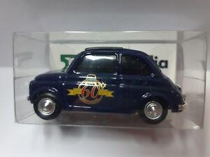 Dettagli Su Fiat 500 Brumm 1 43 Promo 60 Anni Fiat 500 Club Edizione Limitata