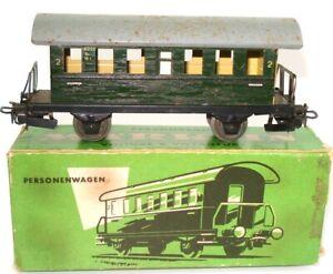 Marklin-N-4000-HO-calibre-Hojalata-2ND-clase-entrenador-En-Caja