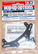 Tamiya 54721 TA07 Carbon Damper Stay (Rear) (TA-07/TA07 Pro), NIP