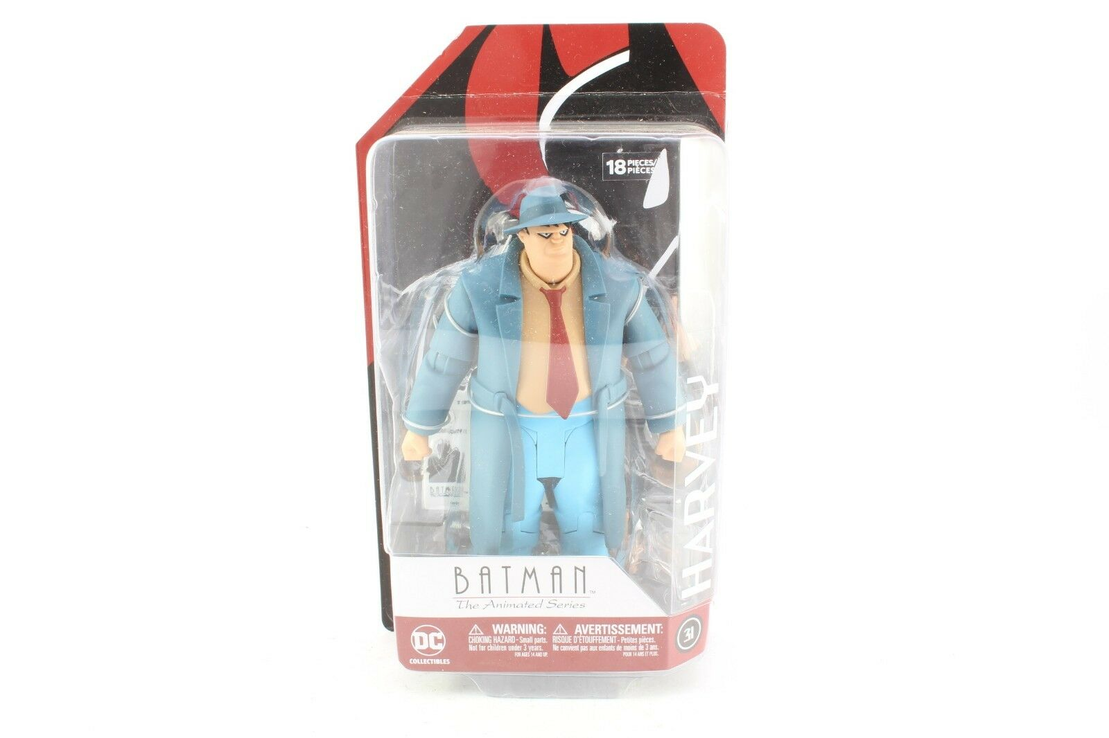 DC Batman The Animated Series Harvey Sealed New Action Figure