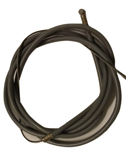 ukscooters LAMBRETTA FRICTION FREE CLUTCH CABLE INNER AND OUTER GREY NEW