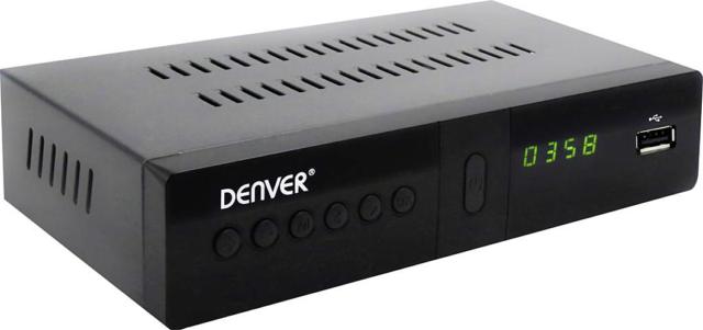 Denver DVBS-205HD HD-SAT-Receiver Front-USB Anzahl Tuner: 1 c4