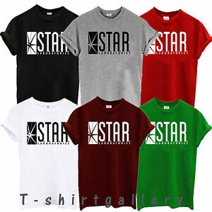 85877147b STAR Laboratories T Shirt Top The Flash S.T.A.R. Labs ALL SIZES GIFT ...