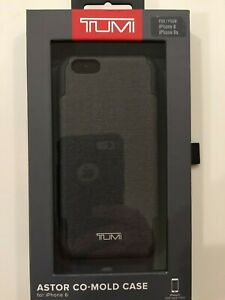 TUMI-Coated-Canvas-Co-Mold-Case-for-Apple-iPhone-6-6s-Gray-NEW
