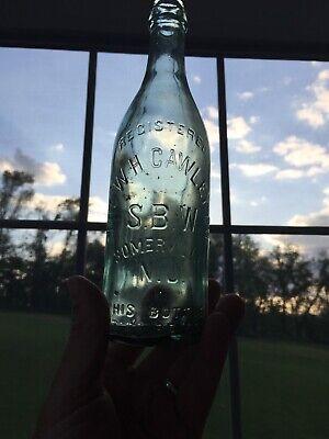 Vintage The W H Cawley Co Bottle Somerville N J Ebay
