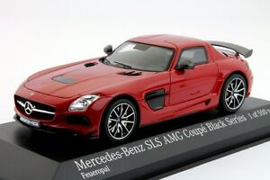 Mercedes Benz Ams Coupè Black Series 2013 Red 1/43 Minichamps