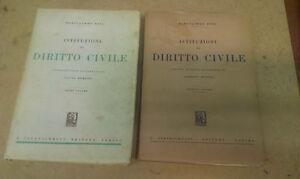 Bartolomeo-Dusi-ISTITUZIONI-DI-DIRITTO-CIVILE-2-Volumi-1951-58-Giappichelli