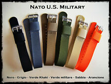 Cinturini NATO U.S. Military misure:18-20-22mm Nylon Straps. ENTRATE!!!