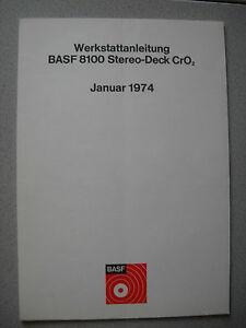 BASF-8100-Cassetten-Deck-Service-Manual
